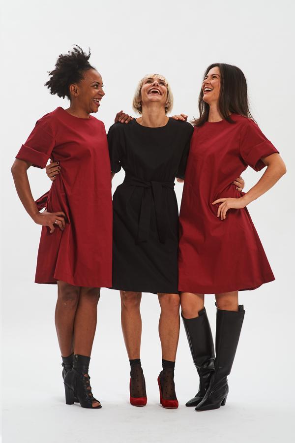 vestiti casual rosso o nero fisto firenze