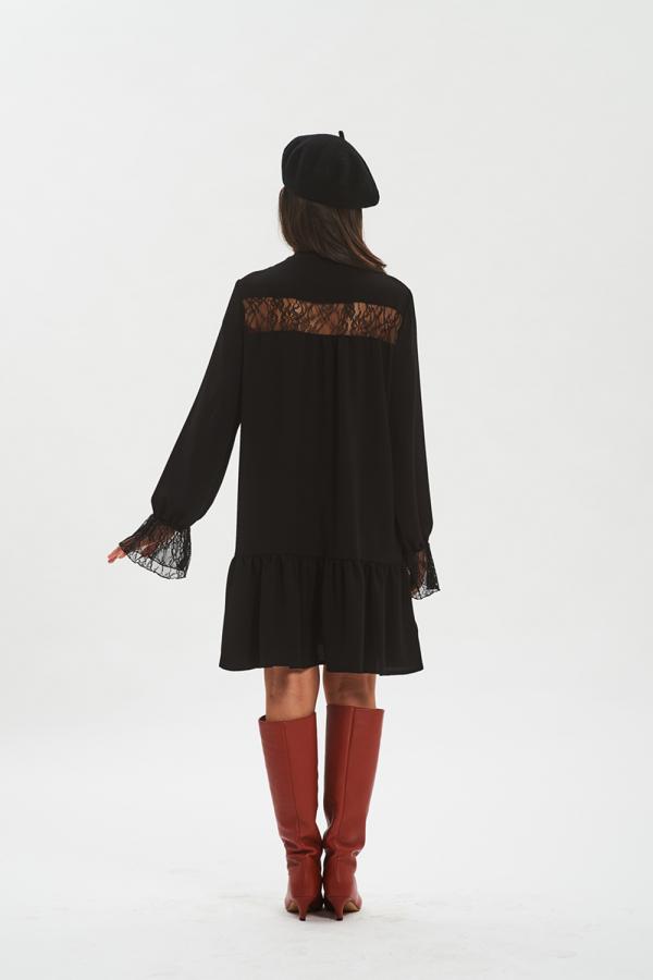 vestito nero donna fisto firenze