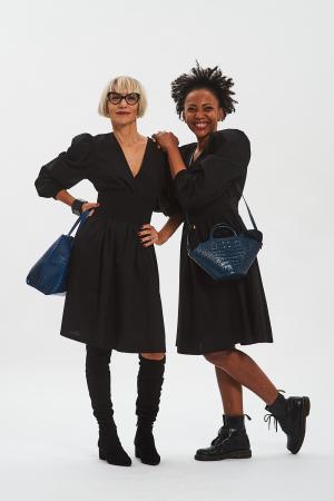 Vestito nero donna